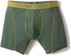 Exofficio Male Give-N-Go Sport Boxer Brief - Men's - 6'' Inseam