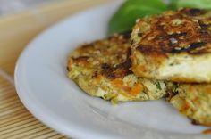 Galettes de tofu aux légumes