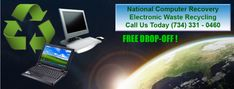 National Computer Recovery – Electronic Waste Recycling Electronic Waste Recycling, Green School, Recovery, Electronics, Survival Tips, Healing, Consumer Electronics