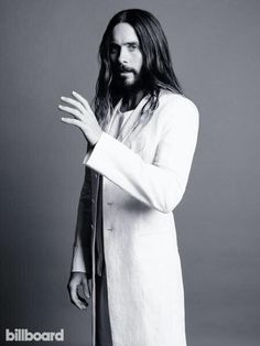 It's so scary, that he looks like a Jesus O.O