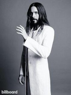 It's so scary, that he looks like a Jesus O.O