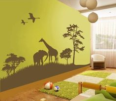 Wall decor ideas for kids' room
