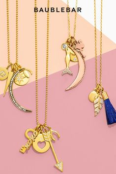 Weekend plans: visit @bloomingdales and build a charm #necklace! #jewelry