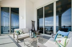 Ocean Views: Amazing Florida Penthouse With Complex Design Features