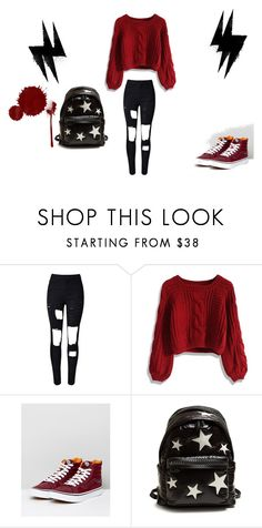 """Sin título #11"" by lalu-bartezaghi on Polyvore featuring moda, WithChic, Chicwish, Vans y STELLA McCARTNEY"