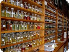 Perfume Making w/ Essential oils. I've worn Patchouli for years, but good tips here for mixing others.