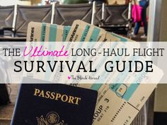 Long flights are exciting because it usually means you're going somewhere amazing! But those long, international flights can also take a toll on your body.  For anyone feeling intimidated bya 10+ hour flight, there are a few tricks-of-the-tradethat willget you through your flight and