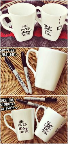 30 Sensational Sharpie Crafts That Will Beautify Your Life via @vanessacrafting