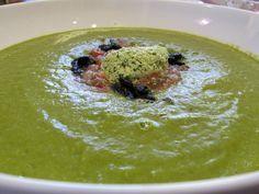 Raw Vegan Cucumber Gazpacho Soup