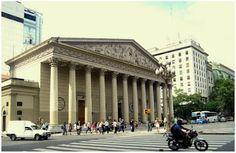Catedral Metropolitana in Plaza de Mayo - Buenos Aires, Argentina