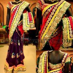 Saree Blouse Patterns: Online Shopping