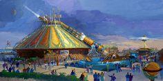 Cirque multicolore