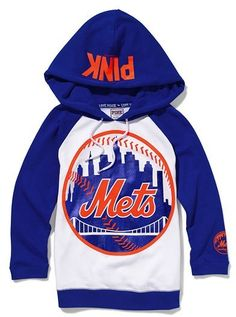Victorias Secret Pink® New York Mets Baseball Hoodie for Sale