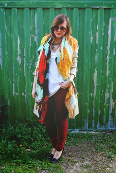 amemipiacecosi: Outfit: il mio foulard personalizzato by Lancioni More pics here http://amemipiacecosi.blogspot.it/2014/03/outfit-il-mio-foulard-personalizzato-by.html#more
