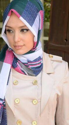 Safe merve Beautiful Hijab ♥.