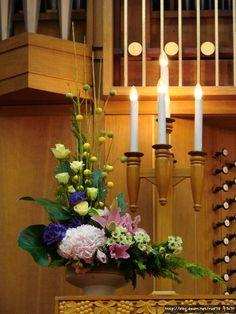 Image result for 교회 꽃꽂이