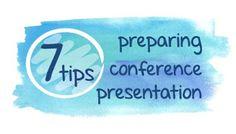 Presentation Slide Design Ideas Blog: 7 tips for stress free conference or seminar talk ...