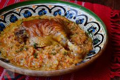 Romanian Food, Risotto, Food And Drink, Cook, Fish, Meat, Chicken, Dinner, Drinks