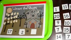 Math with lima bean ghosts.