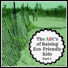 ABCs of Raising Eco-Friendly Kids