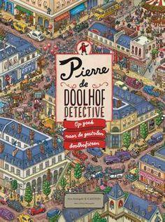 Pierre De Doolhofdetective-Chihiro Maruyama-boek cover voorzijde