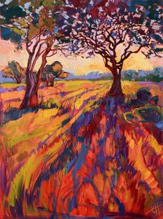 """Oregon Wine Country"" by Erin Hanson"