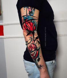 Side Tattoos, Small Tattoos, Tatoos, Trash Polka Tattoo, Tattoo Trash, Arte Trash Polka, Painted Toes, Tattoo People, Tattoo Magazines