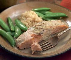 Day 4 Dinner: Mustard-Crusted Salmon