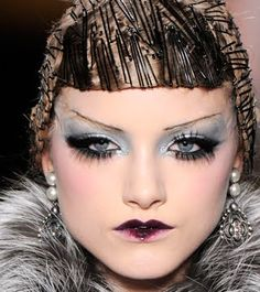 Dior A/W Show 09/10  I think it was Pat McGrath that created this look