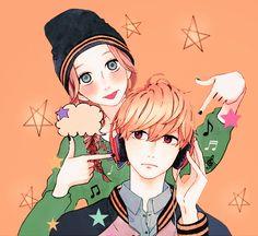 Hirunaka no Ryuusei - Daiki and Suzume
