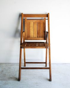 folding chair wooden chair folding wood chair wood by littlecows, $82.00