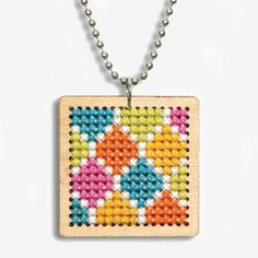 Dimensions® Pattern Pendant Counted Cross Stitch Kit                                                                                                                                                                                 More