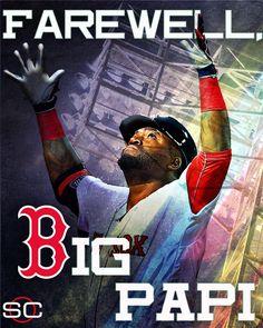David Ortiz says goodbye to baseball, ending his career at Fenway Park.
