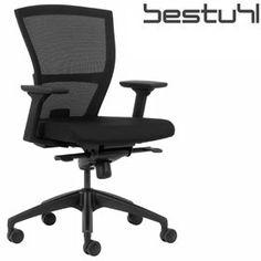 Bestuhl E1 Black Mesh Task Chair  www.officefurnitureonline.co.uk