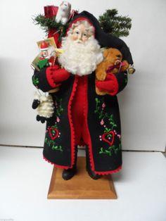 Gorgeous Lynn Haney 1999 Stocking Stuffers Santa Claus in Orig Box | eBay