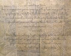 Quote on Photography - Paris Map - Quote From Midnight in Paris - Quote Wall Art. $30.00, via Etsy.