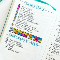 OMG. | 25 Satisfying Bullet Journal Layouts That'll Soothe Your Soul