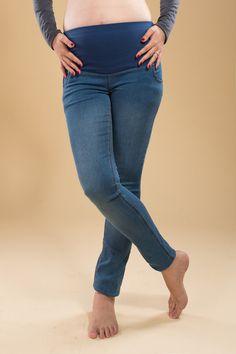 ebcda5b55 Blue worn out - dark blue - black - maternity pants - maternity skinny pants  - maternity jeans - maternity clothes - maternity trousers