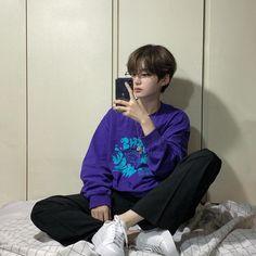 Korean Boys Hot, Korean Boys Ulzzang, Korean Babies, Ulzzang Boy, Asian Boys, Asian Men, Asian Girl, Short Grunge Hair, Korean Short Hair