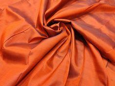 Pale Carmine Mulberry Silk Fabric/100% Pure Silk fabric, plain silk fabric made with handloom, Fabric by the yard. by TheSLVSilks on Etsy Dupioni Silk Fabric, Raw Silk Fabric, How To Dye Fabric, Cool Fabric, Scarf Curtains, Natural Protein, Silk Bedding, Orange You Glad, Mulberry Silk