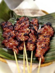 Skewered BBQ pork - Filipino style