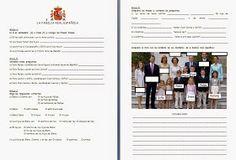 Nous sommes nombreux à avoir dû modifier nos cours avec l'arrivée du nouveau Roi d'Espagne.  Je vous propose donc plusieurs travaux :   Cett...