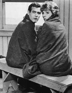 Paul Newman and Julie Andrews, Torn Curtain.