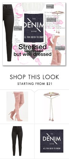 """""""= Just in case ="""" by xstay-beautiful ❤ liked on Polyvore featuring Johnny Loves Rosie, Levi's, Rialto Jean Project, Valentino, contest, denim and polyvoreeditorial"""