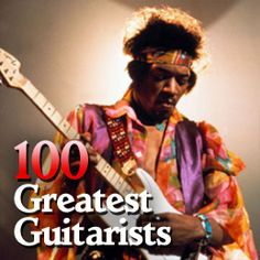 Showing our support to the 100 Greatest Guitarists We at www.pr2promo.com support the movement