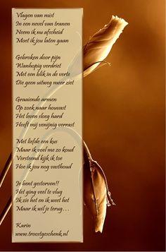 Vlagen van mist Troostgeschenk Gedicht