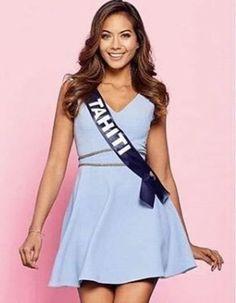 Vaimalama Chaves, Miss Tahiti Vaimalama Chaves in 2019