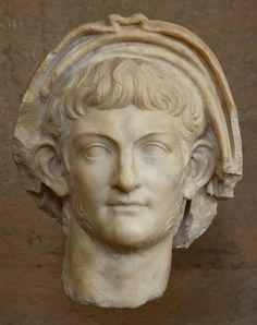 Portrait head of the emperor Nero. Marble. Ca. 60 CE. Inv. No. S-1088. Corinth, Archaeological Museum of Ancient Corinth. (Photo by I. Sh.).