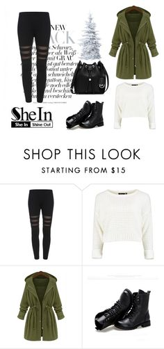 """""""SheIn."""" by minna-998 ❤ liked on Polyvore featuring Sunsteps and MICHAEL Michael Kors"""
