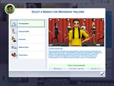 Ultimate Dancer Career is mega-career with 10 levels and 5 possible paths. Whatever your Sims dance dream, it's right here. Sims 4 Cas Mods, Los Sims 4 Mods, Sims 4 Body Mods, Sims Four, Sims 4 Mm, Sims 4 Jobs, Sims Traits, Sims 4 Cheats, Sims 4 Cc Eyes